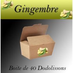 Ballotin 40 dodolissons saveur  gingembre