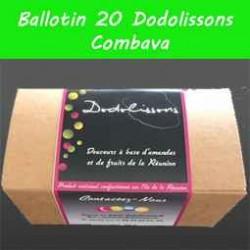 Ballotin 20 dodolissons saveur combava