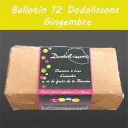Ballotin 12 dodolissons saveur  gingembre