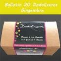 Ballotin 20 dodolissons saveur  gingembre