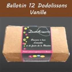 Ballotin 12 dodolissons saveur  vanille