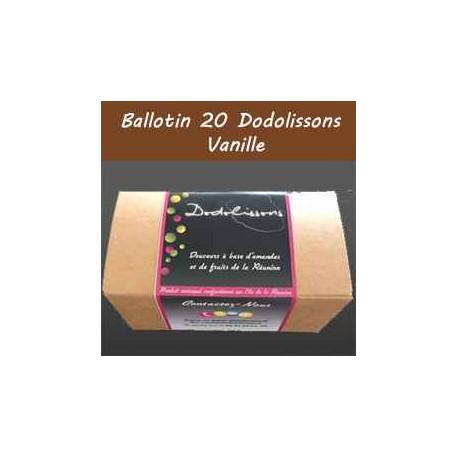 Ballotin 20 dodolissons saveur  vanille